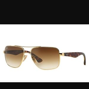 Gold and Tortoise Ray-Ban